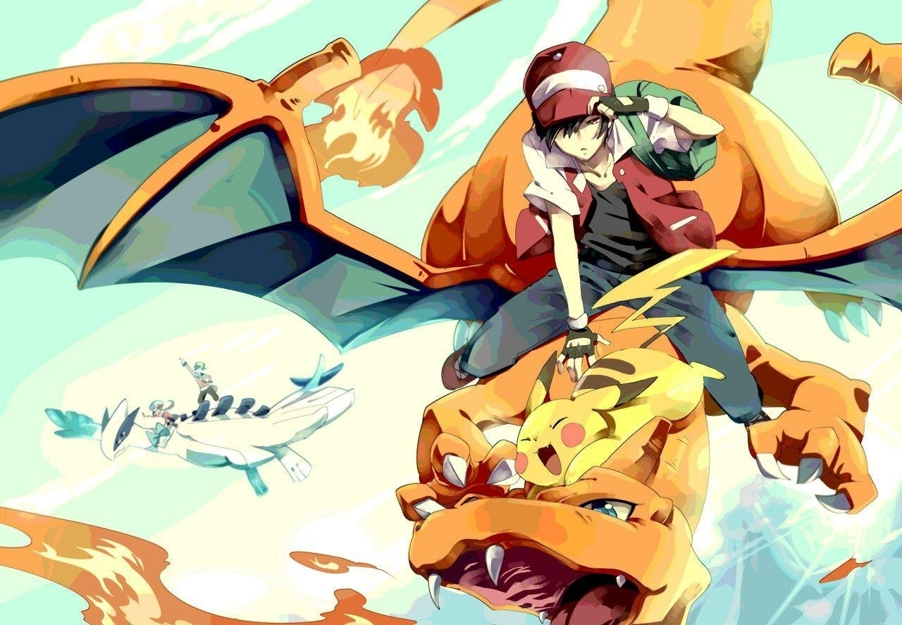 10 Best Pokemon Master Red Wallpaper FULL HD 1920×1080 For PC Background