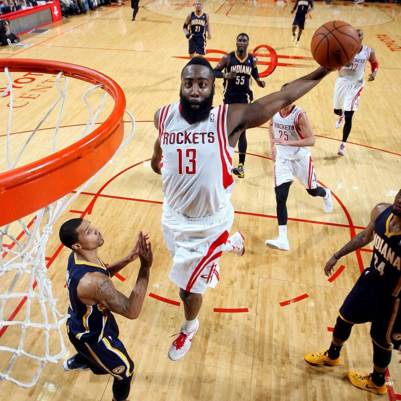 10 Latest James Harden Dunk Wallpaper FULL HD 1080p For PC Background 2018 free download 10 nba players that wont be in space jam 2 with lebron james 800x800