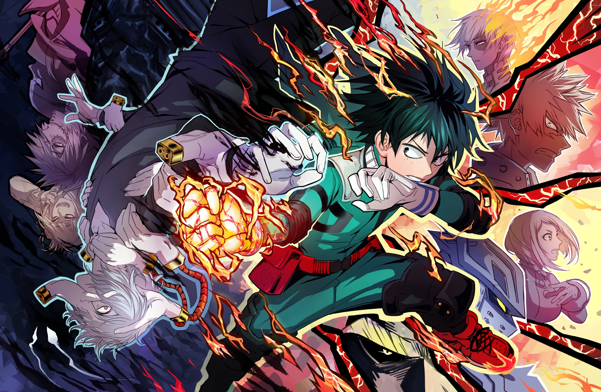 10 Most Popular Boku No Hero Academia Backgrounds FULL HD 1920×1080 For PC Desktop