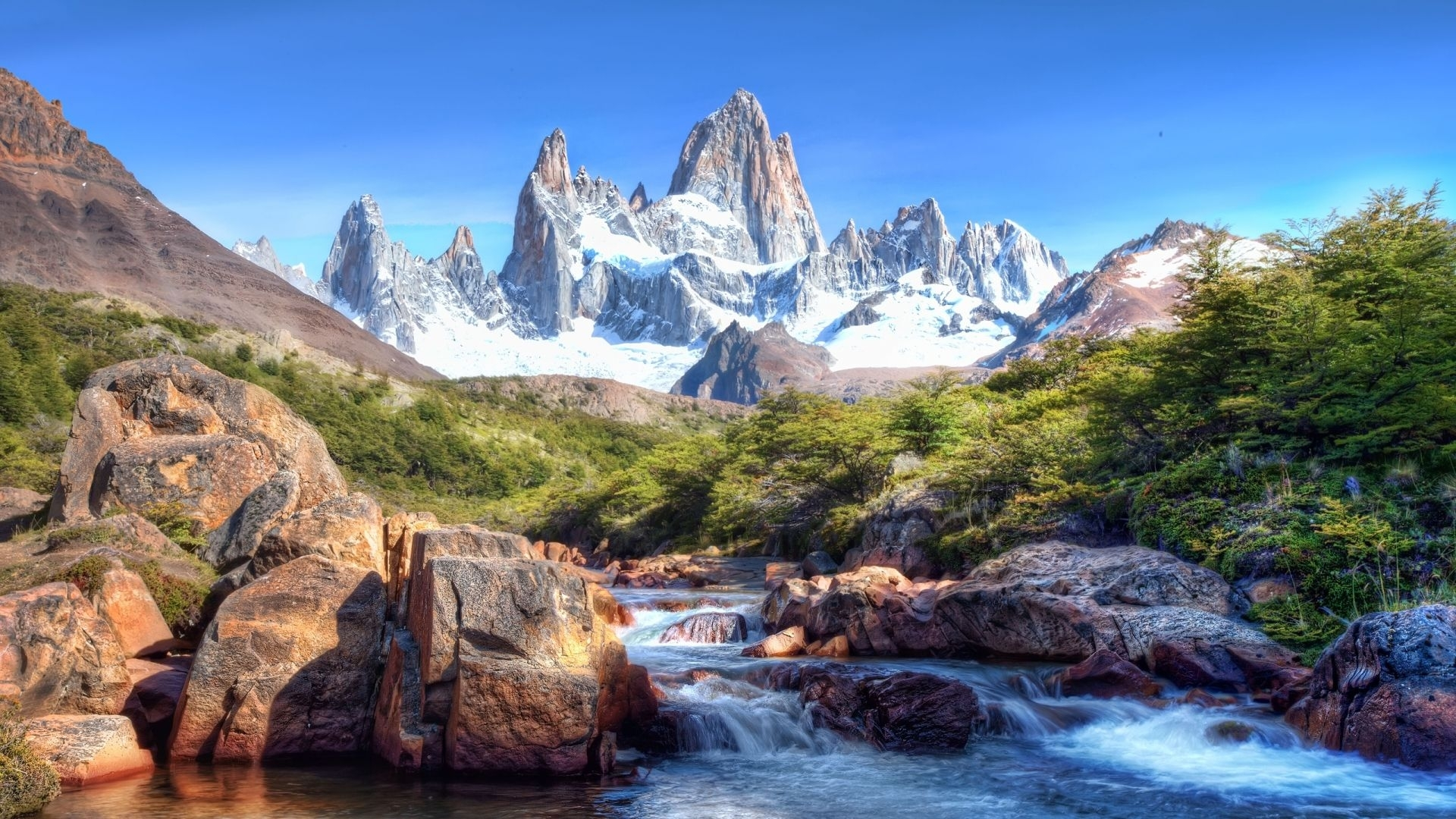 1080p hd wallpapers landscape |  landscape > mountains and river
