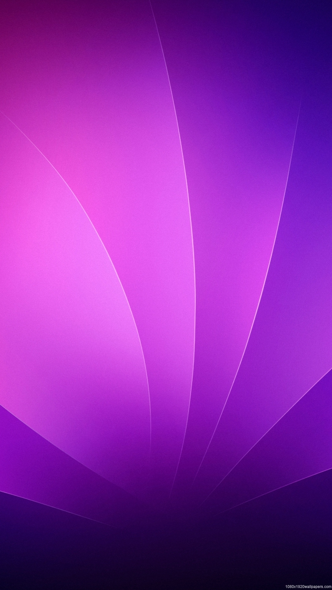 1080x1920 leaves line abstract purple wallpapers hd - 1080p