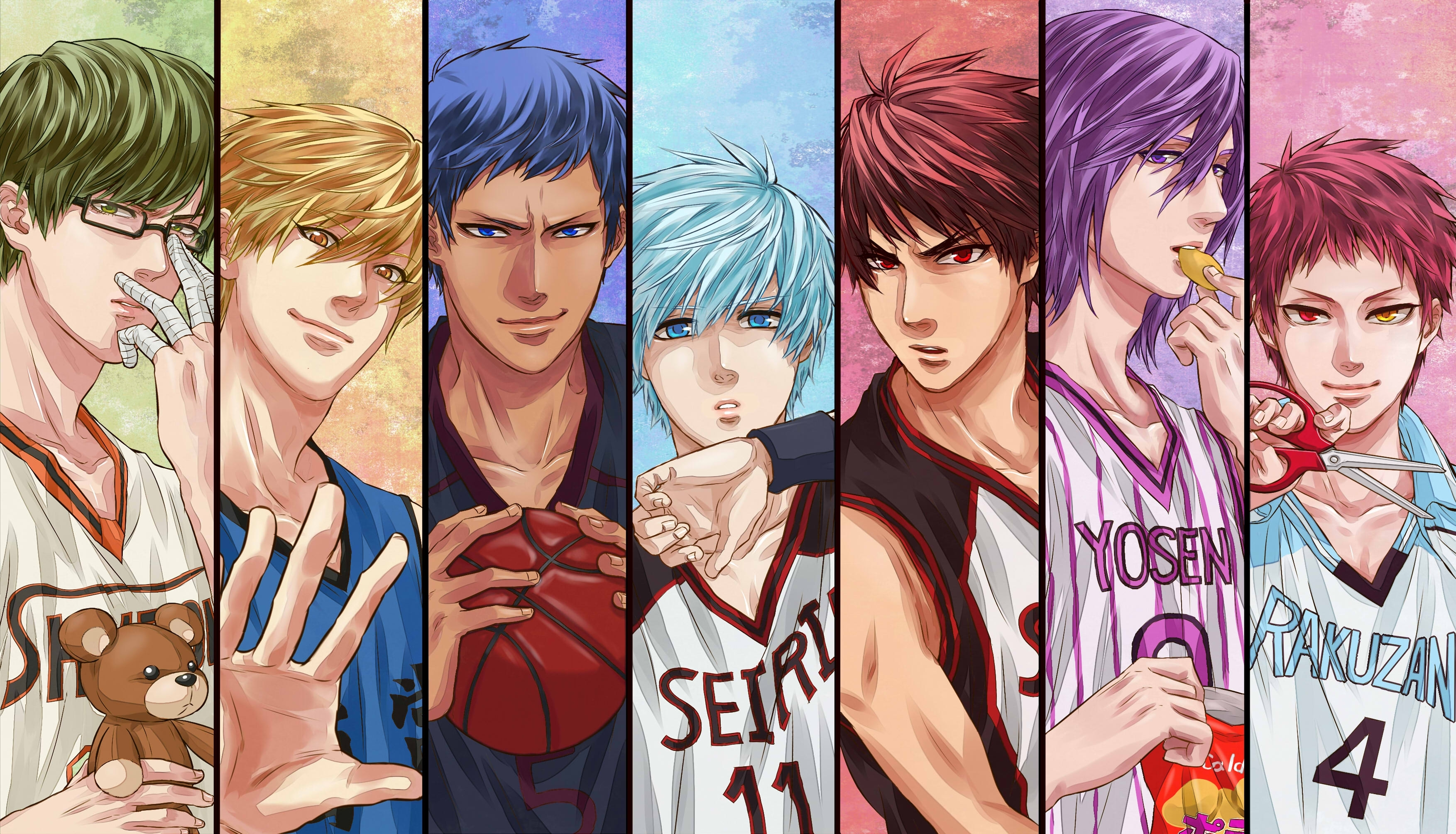 111 kuroko's basketball hd wallpapers | background images