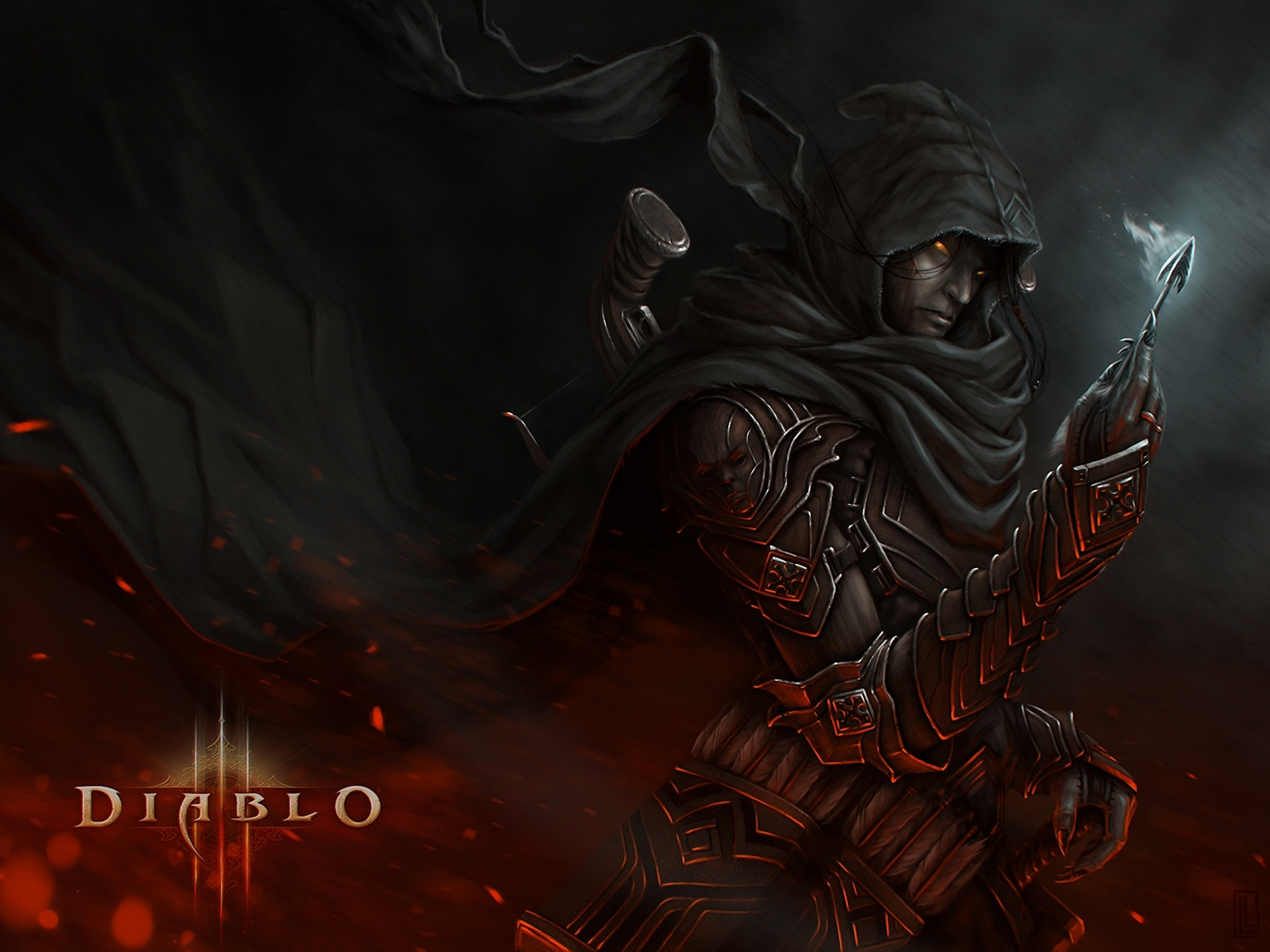 116 demon hunter (diablo iii) fonds d'écran hd | arrière-plans