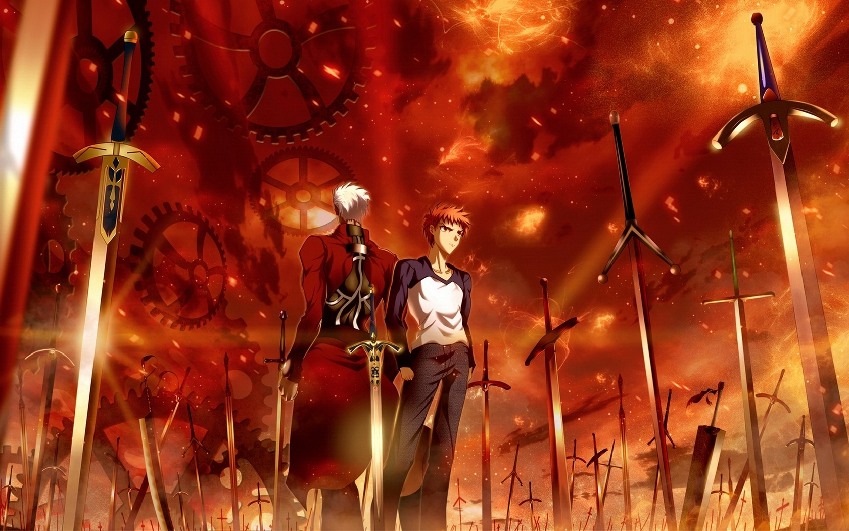 120 fate/stay night: unlimited blade works hd wallpapers