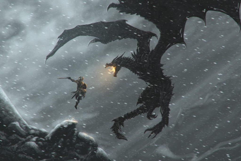 10 New Skyrim Dragon Wallpaper 1920X1080 FULL HD 1920×1080 For PC Background 2018 free download 1234 the elder scrolls v skyrim hd wallpapers background images 1024x684