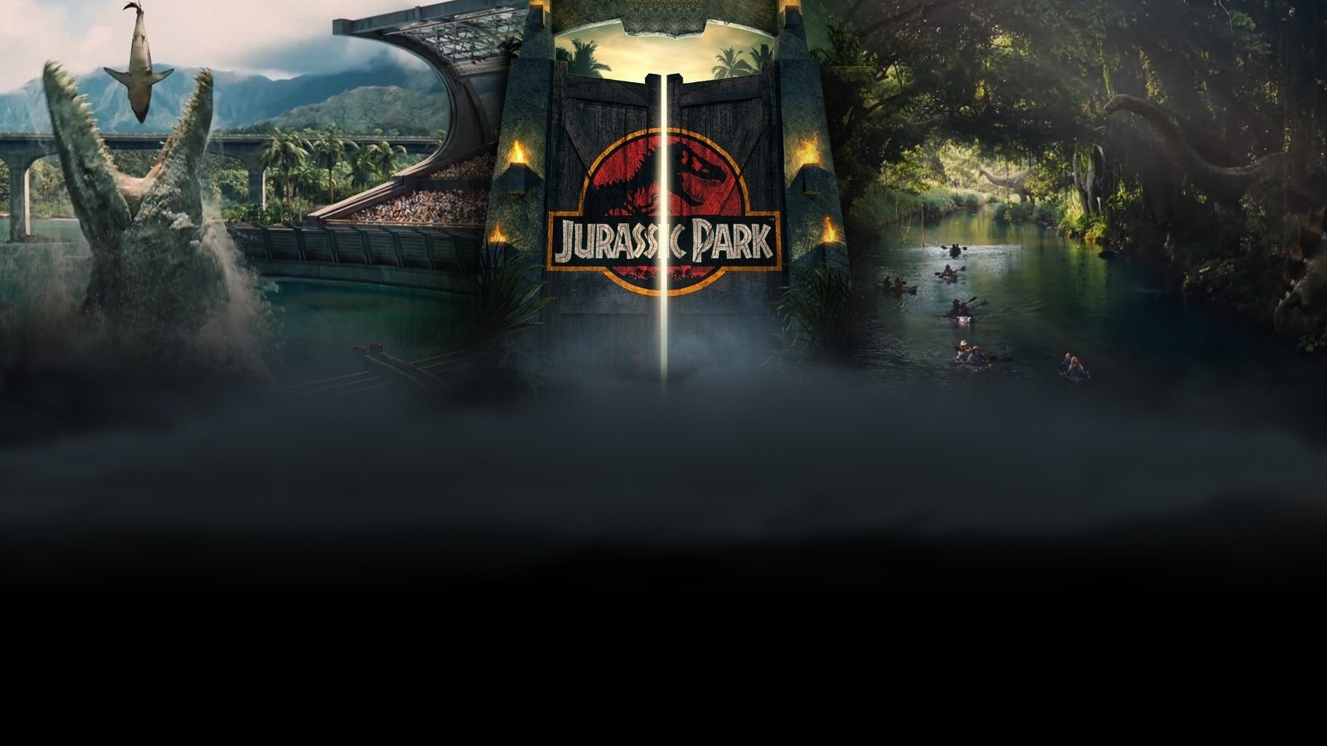 124 jurassic park hd wallpapers | background images - wallpaper abyss