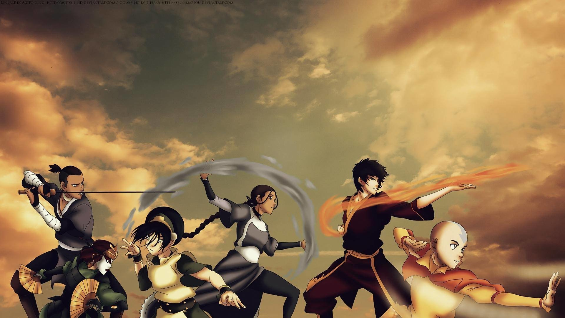 126 avatar: the last airbender hd wallpapers | background images