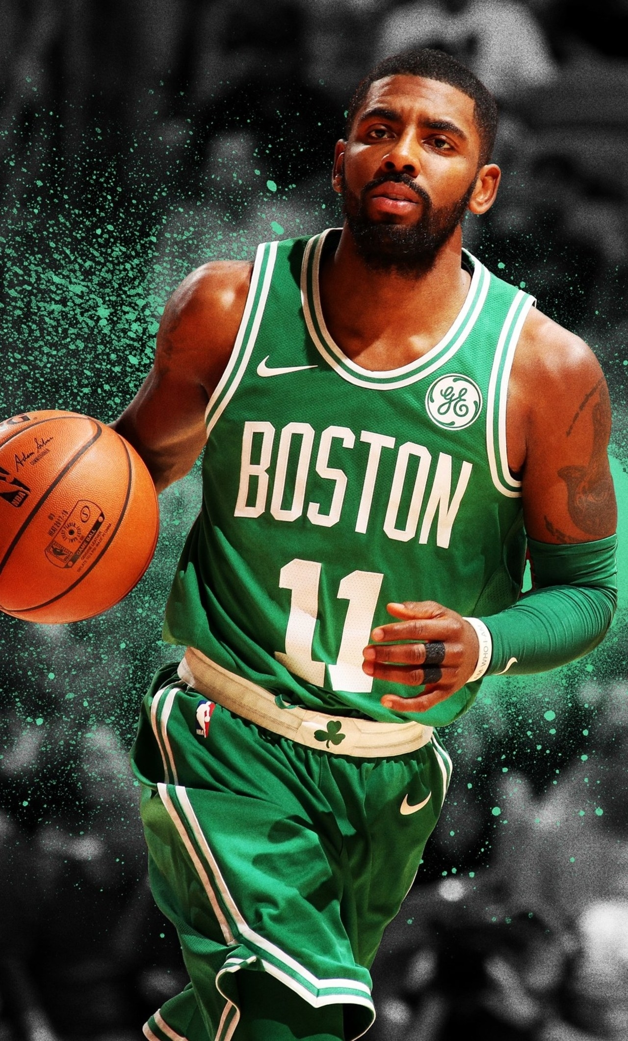 1280x2120 kyrie irving iphone 6+ hd 4k wallpapers, images