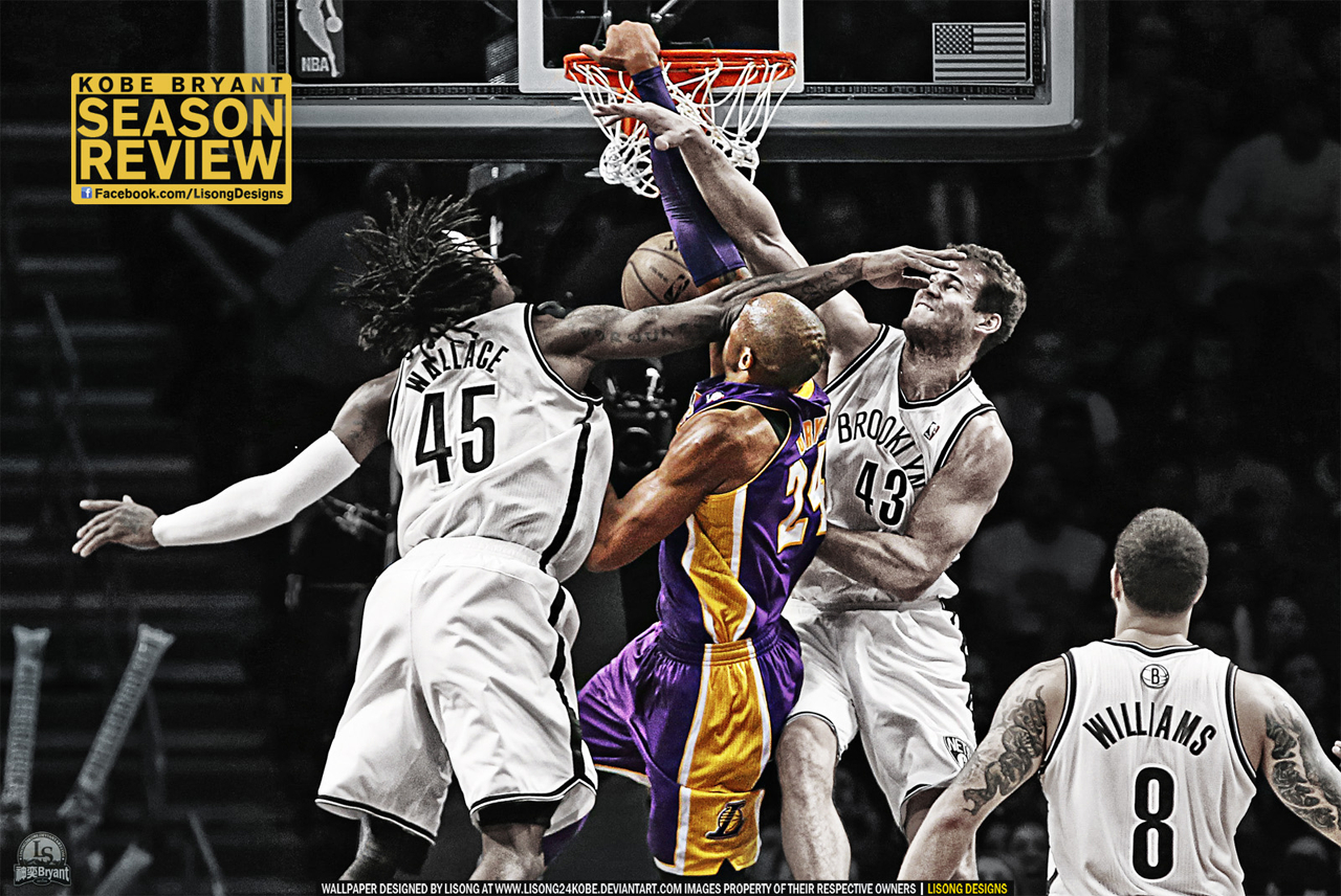 1280x856px kobe dunking wallpaper - wallpapersafari