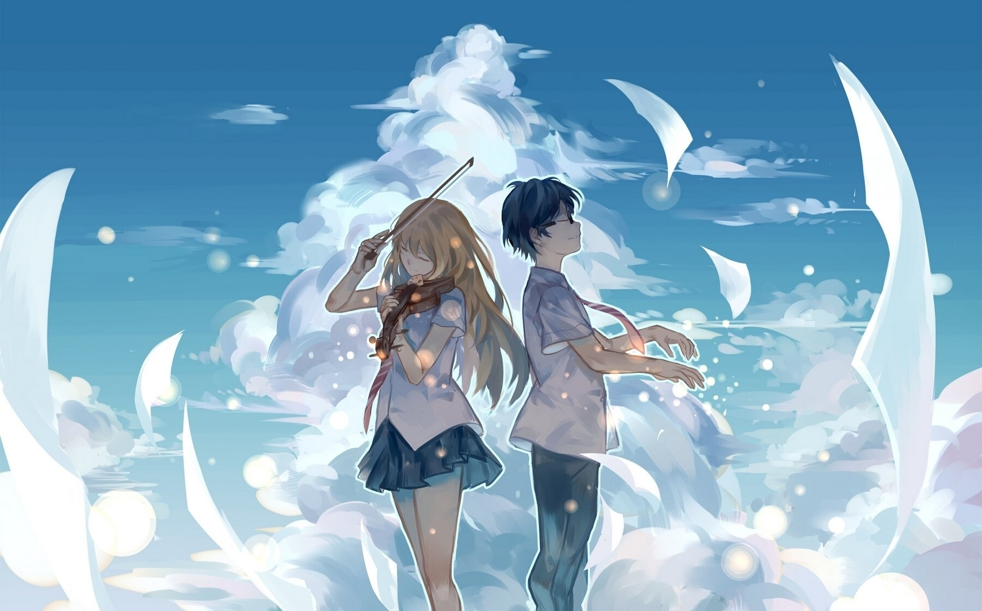 132 your lie in april hd wallpapers | background images - wallpaper