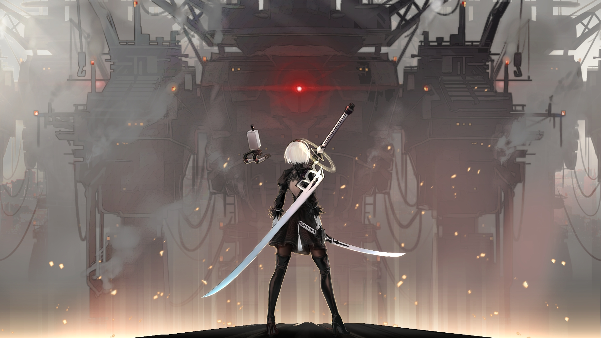 10 Best Nier Automata 1920X1080 Wallpaper FULL HD 1080p For PC Background