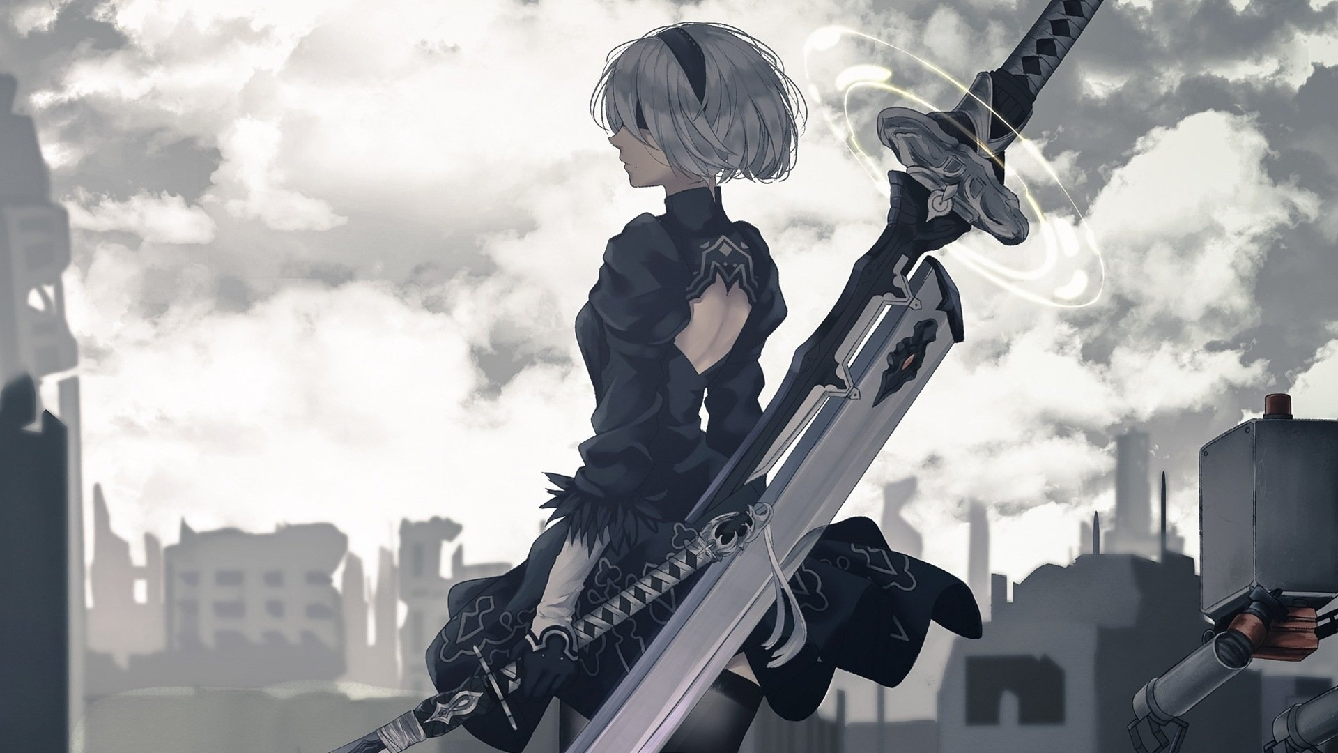 135 nier: automata hd wallpapers | background images - wallpaper abyss