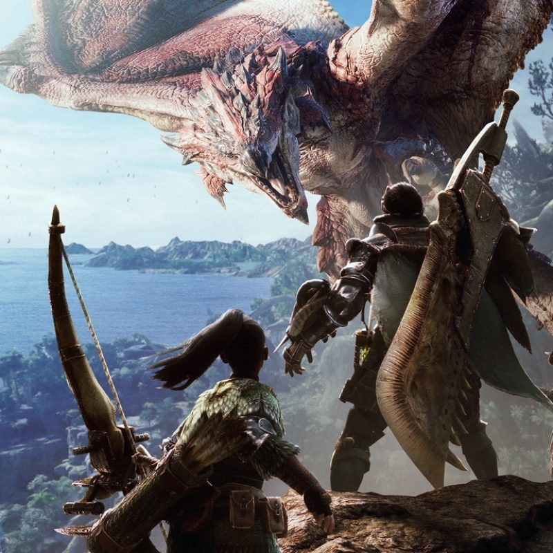 10 Top Monster Hunter World Hd Wallpaper FULL HD 1080p For PC Desktop 2018 free download 1360x768 monster hunter world hd laptop hd hd 4k wallpapers images 800x800