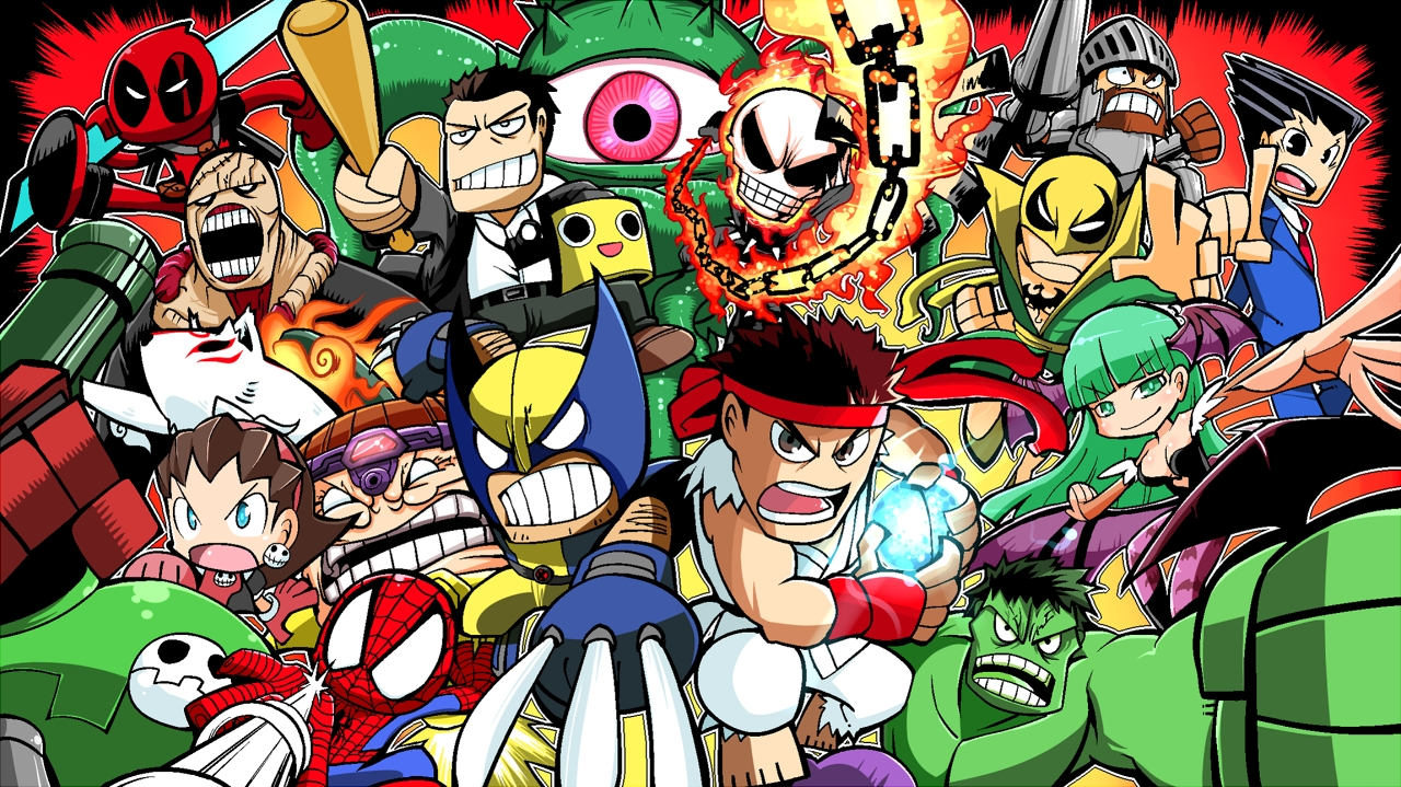 14 ultimate marvel vs. capcom 3 hd wallpapers | background images