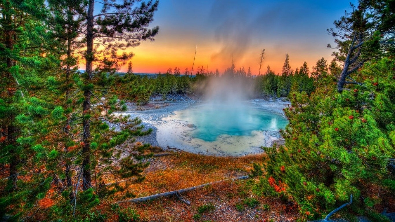 14 yellowstone national park hd wallpapers | background images