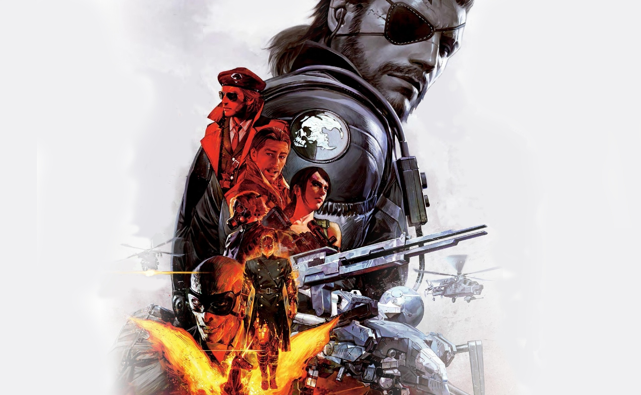 151 metal gear solid v: the phantom pain hd wallpapers