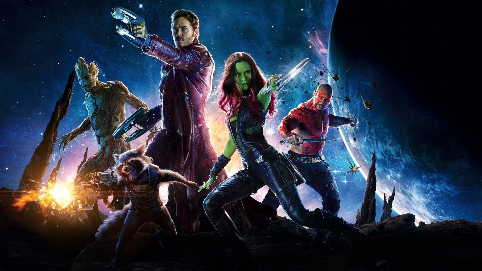 10 Top Guardians Of The Galaxy Backgrounds FULL HD 1920×1080 For PC Desktop