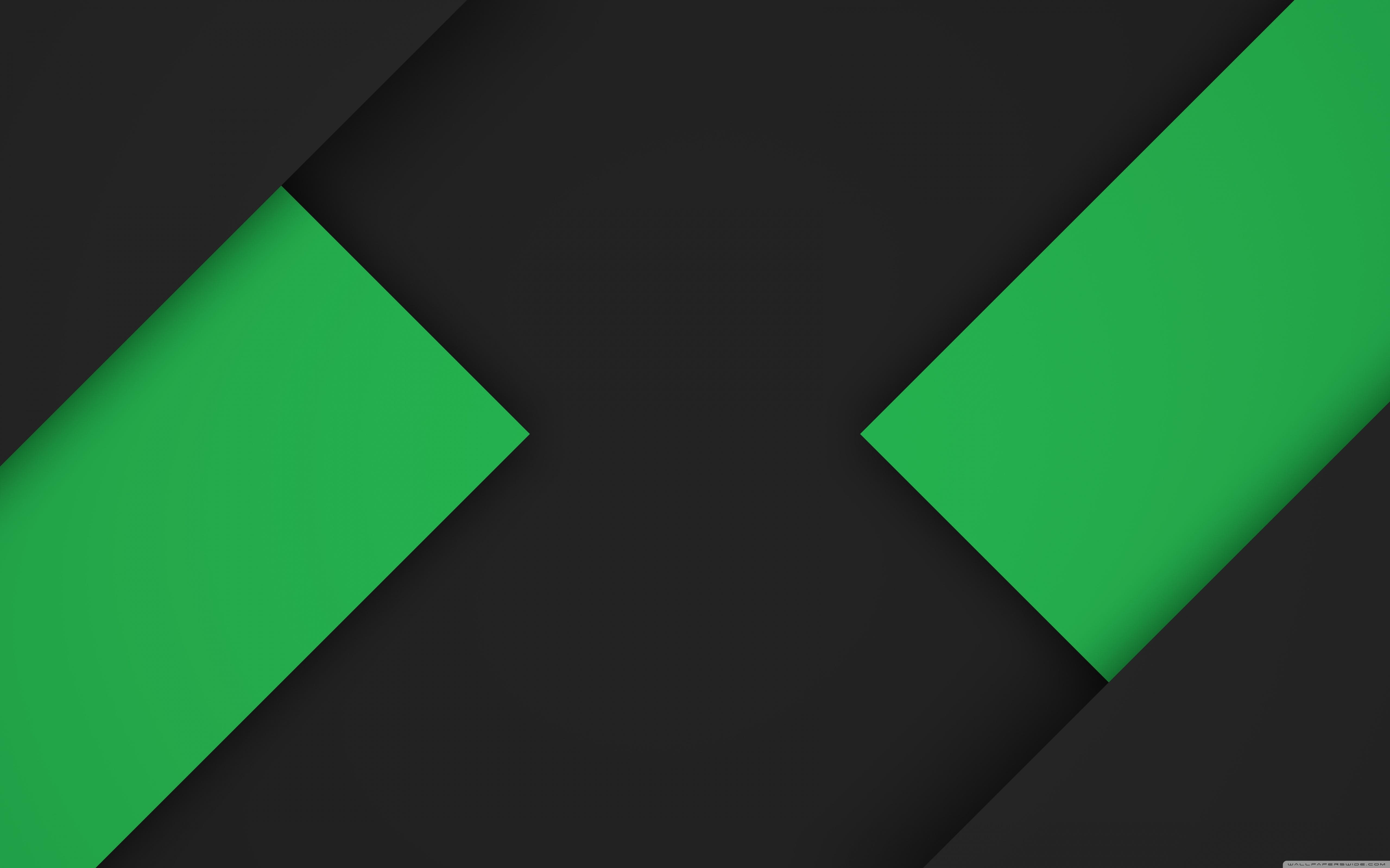 16k material dark green ❤ 4k hd desktop wallpaper for • wide