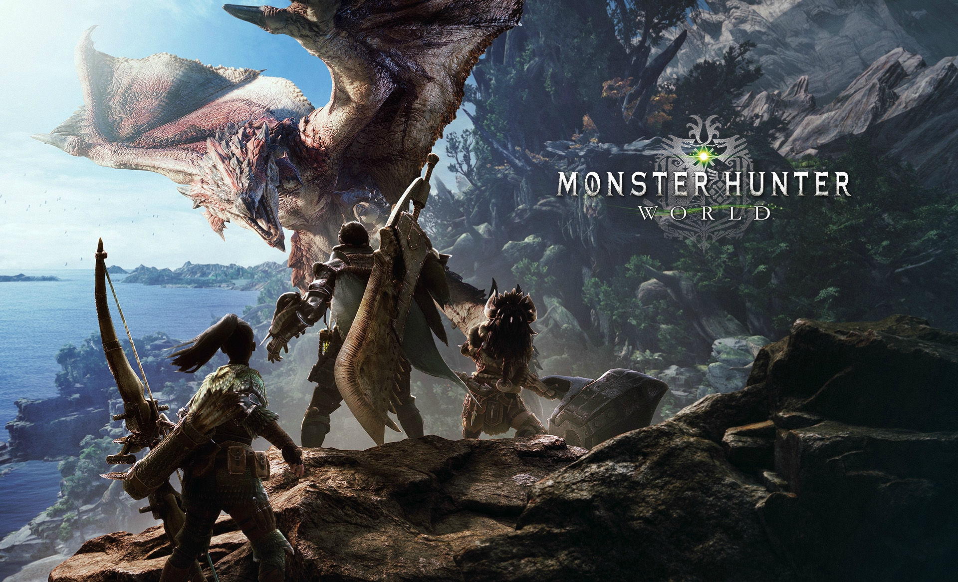 17 monster hunter: world hd wallpapers | background images