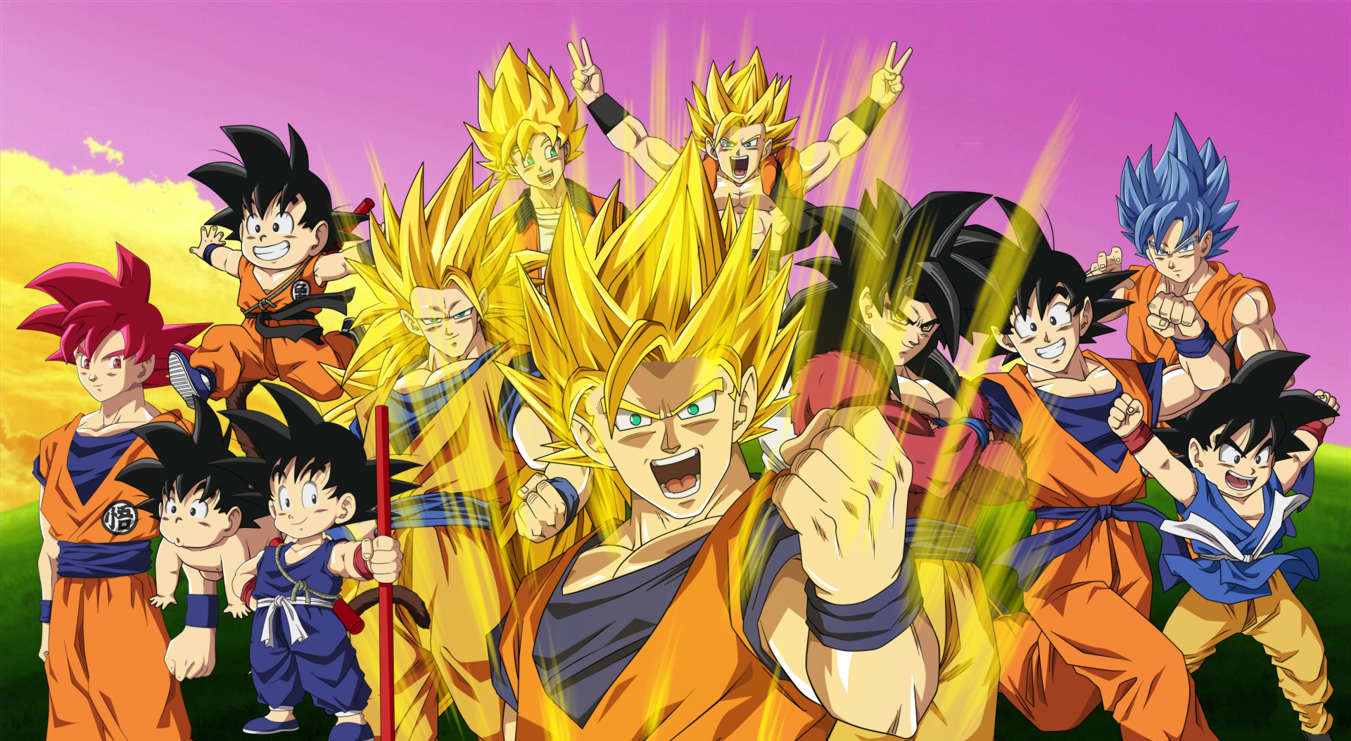 174 4k ultra hd dragon ball z wallpapers | background images