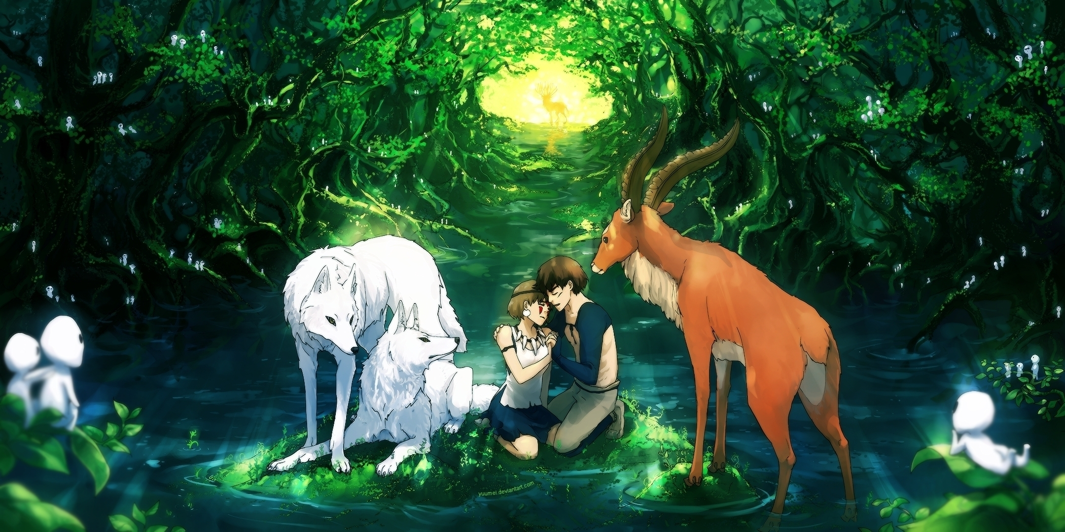 178 princess mononoke hd wallpapers | background images - wallpaper