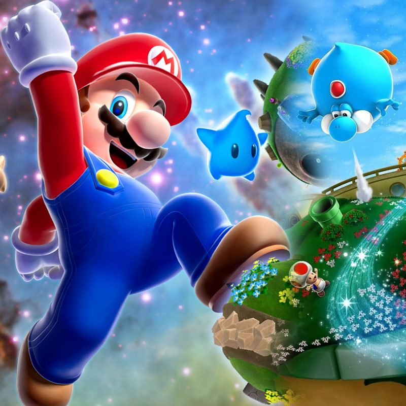 10 Best Super Mario Galaxy 2 Wallpaper FULL HD 1920×1080 For PC Background 2018 free download 18 super mario galaxy 2 fonds decran hd arriere plans wallpaper 800x800