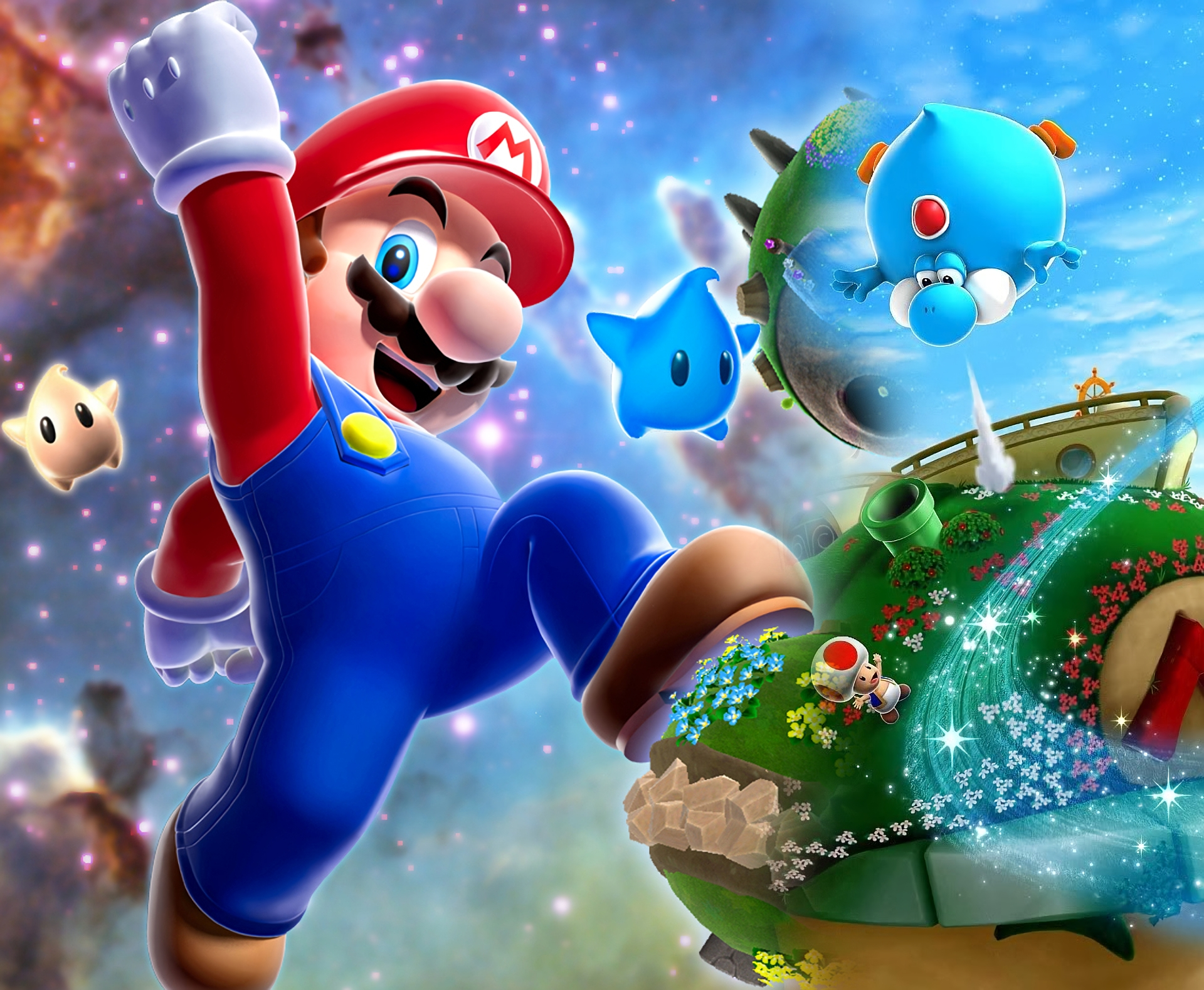 18 super mario galaxy 2 fonds d'écran hd | arrière-plans - wallpaper