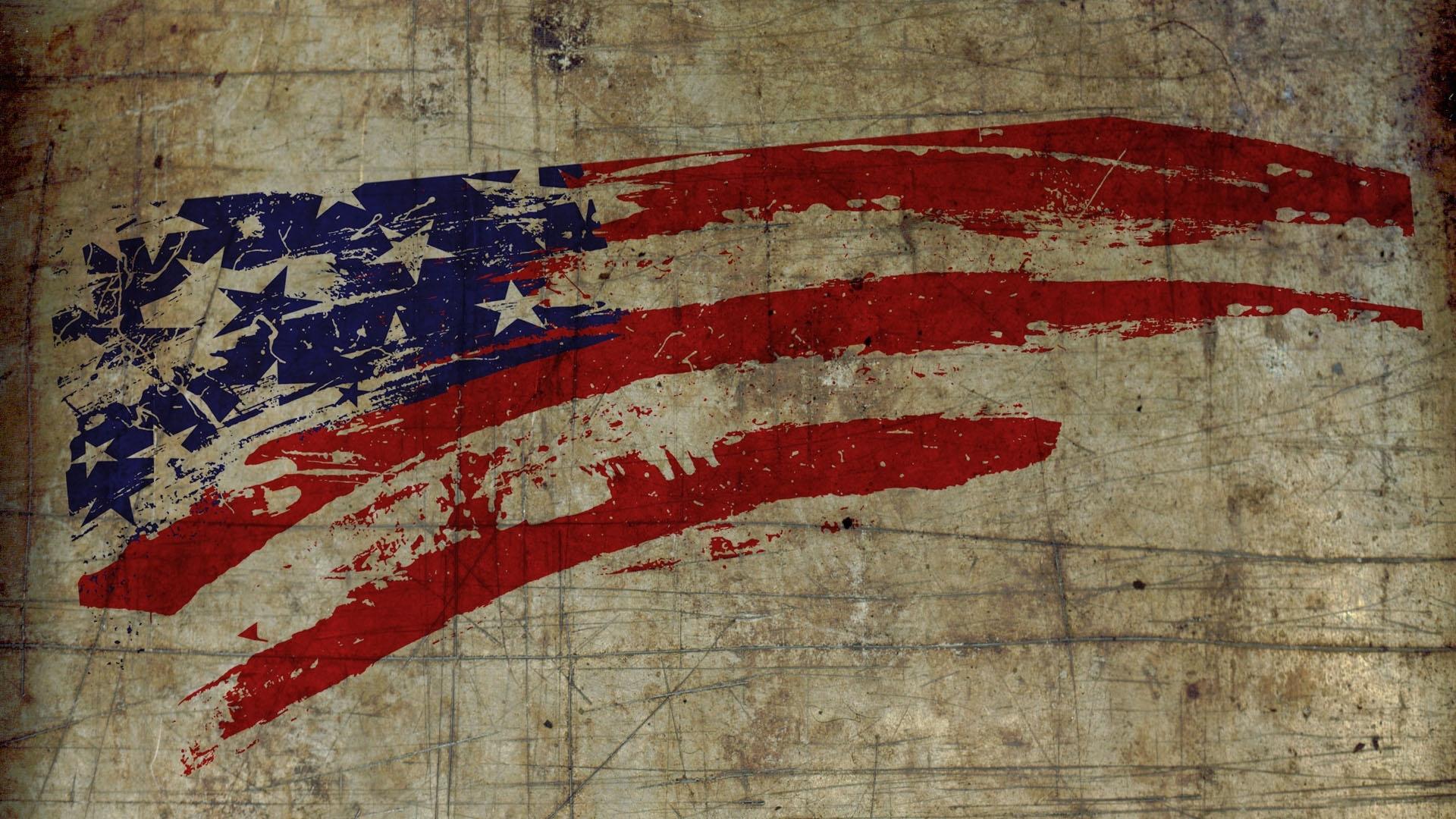 18225) vintage american flag wallpaper hd - walops