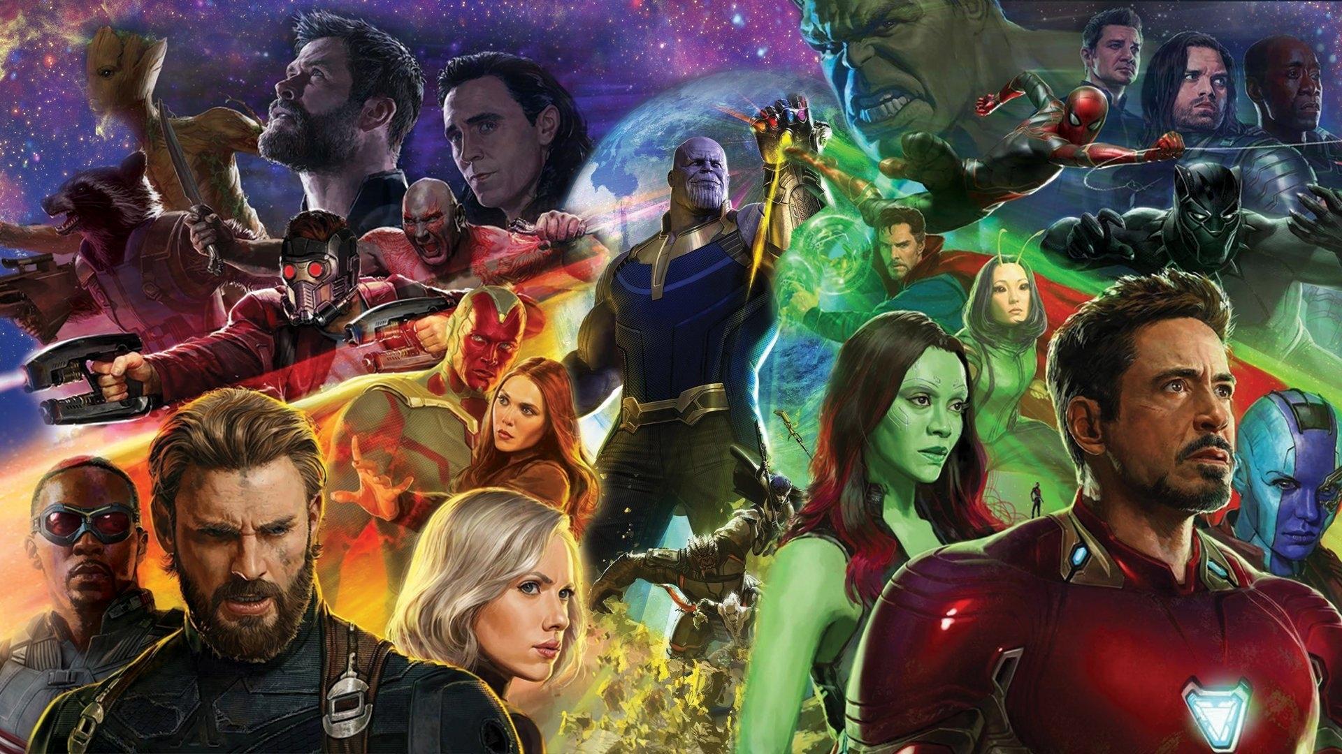 10 New Avengers Infinity War Desktop Wallpaper FULL HD 1080p For PC Background