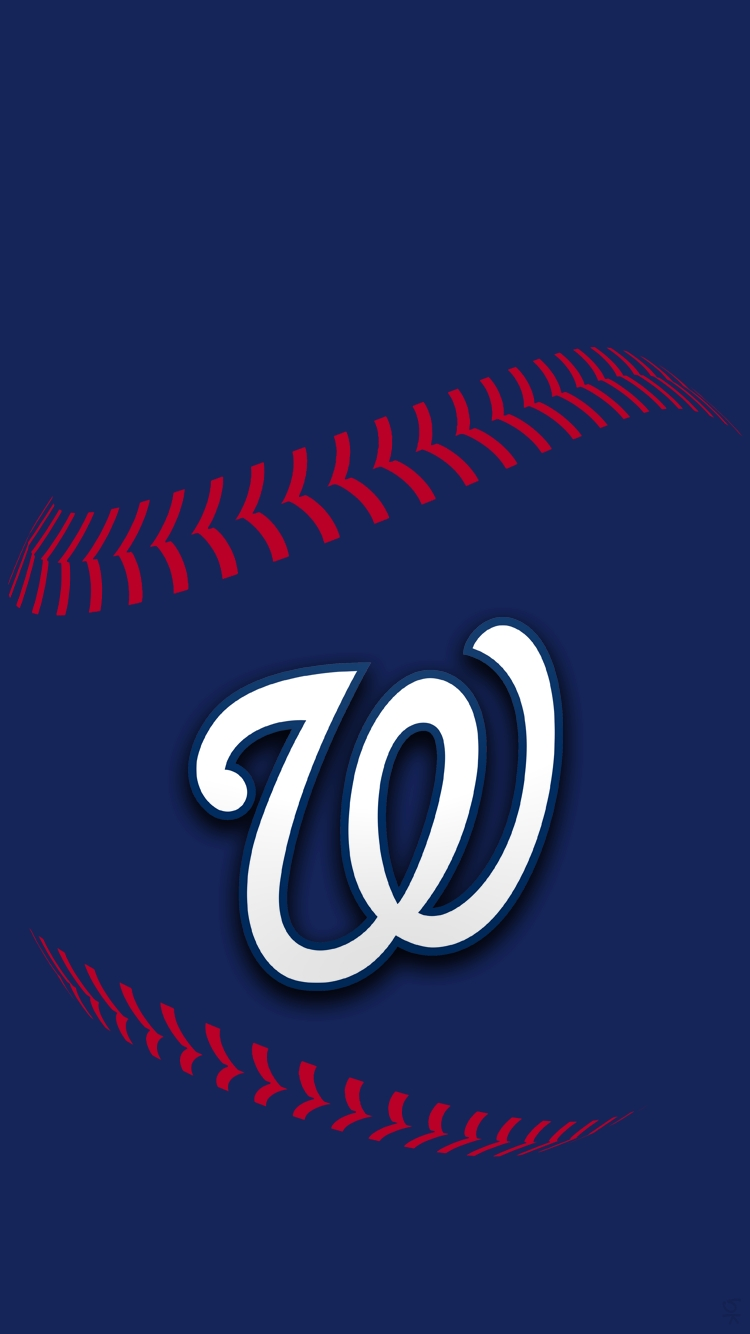1918 washington nationals iphone wallpaper