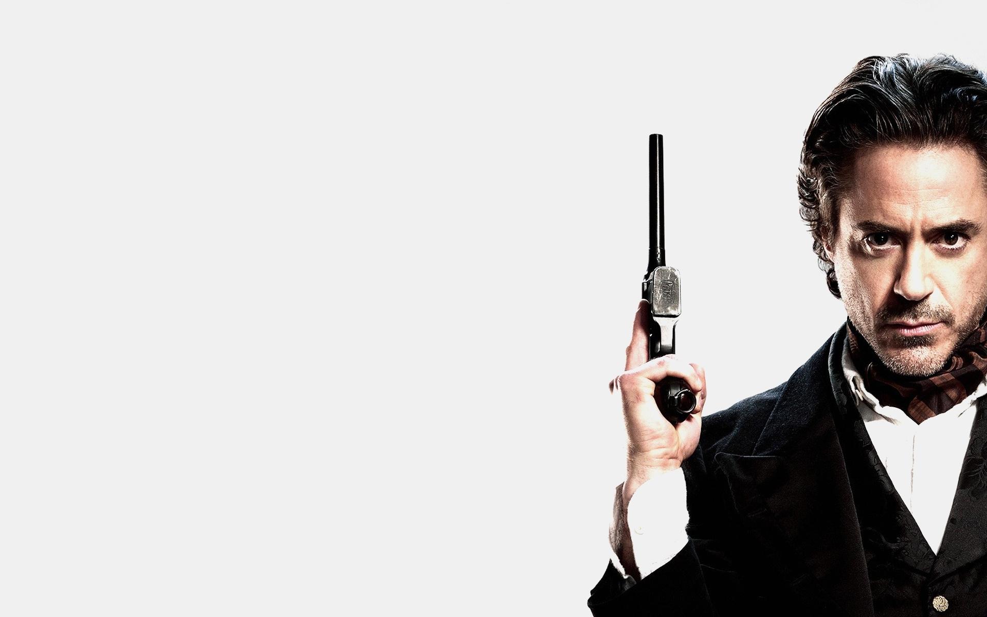 1920x1200 robert downey jr., sherlock holmes, the gun, sherlock