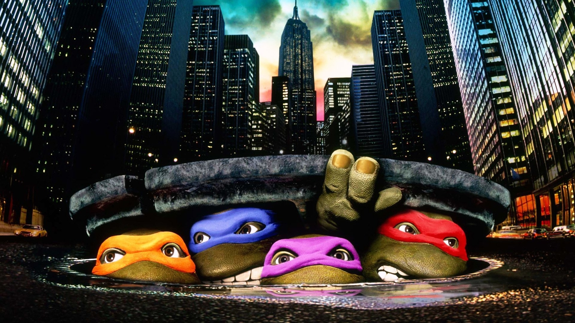 2 teenage mutant ninja turtles (1990) hd wallpapers | background