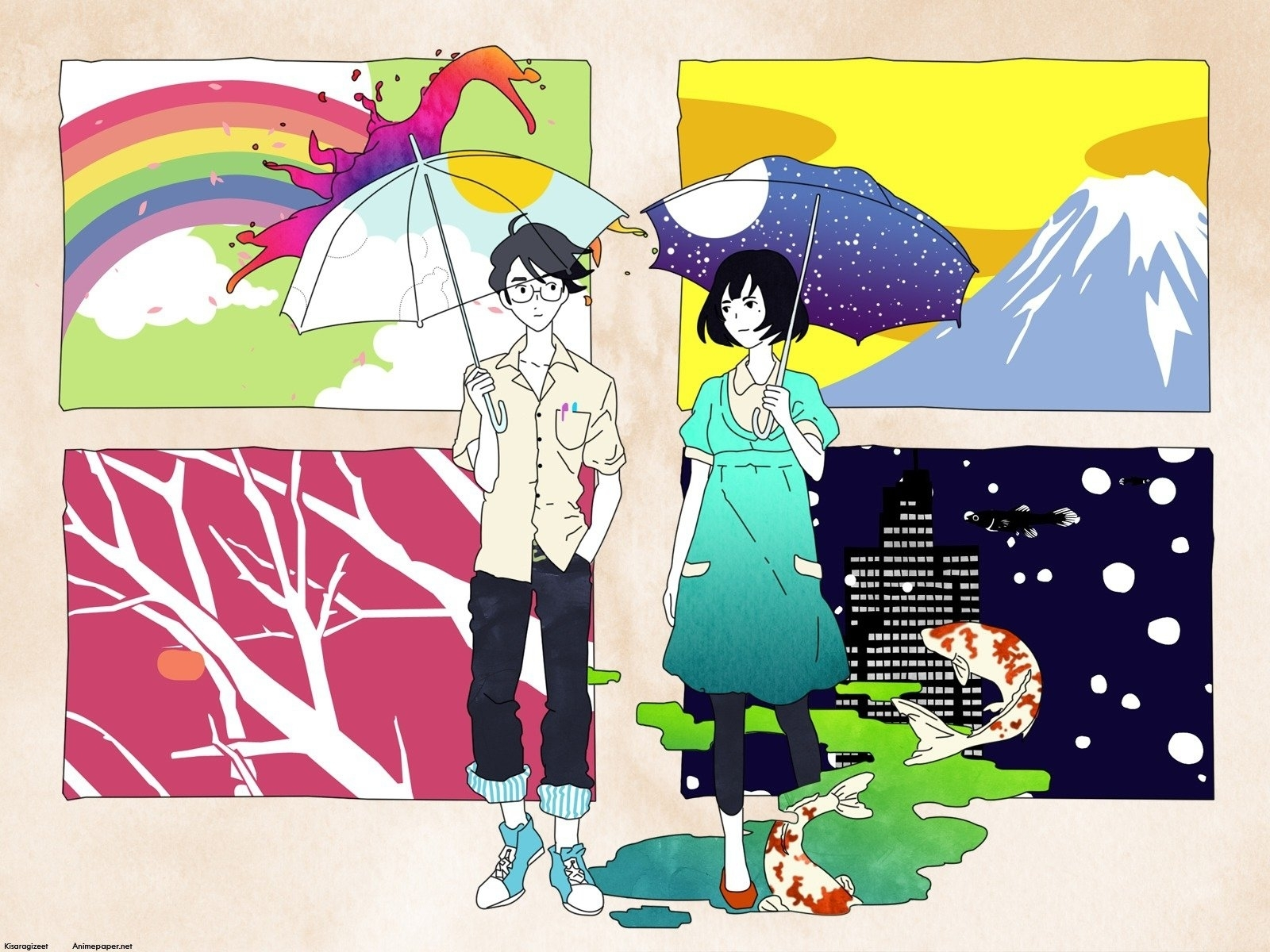 20 the tatami galaxy hd wallpapers | background images - wallpaper abyss