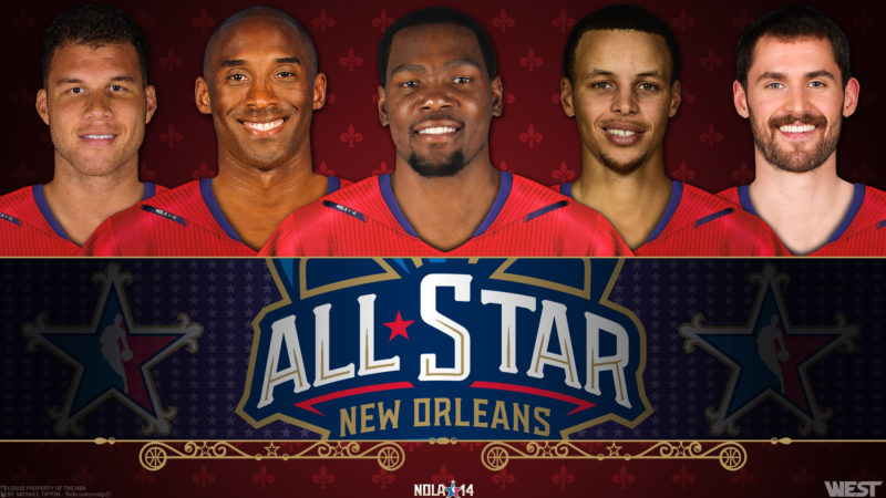 10 New Nba All Star Wallpapers FULL HD 1920×1080 For PC Desktop 2020 free download 2014 nba all star west starters 1920x1080 wallpaper basketball 800x450