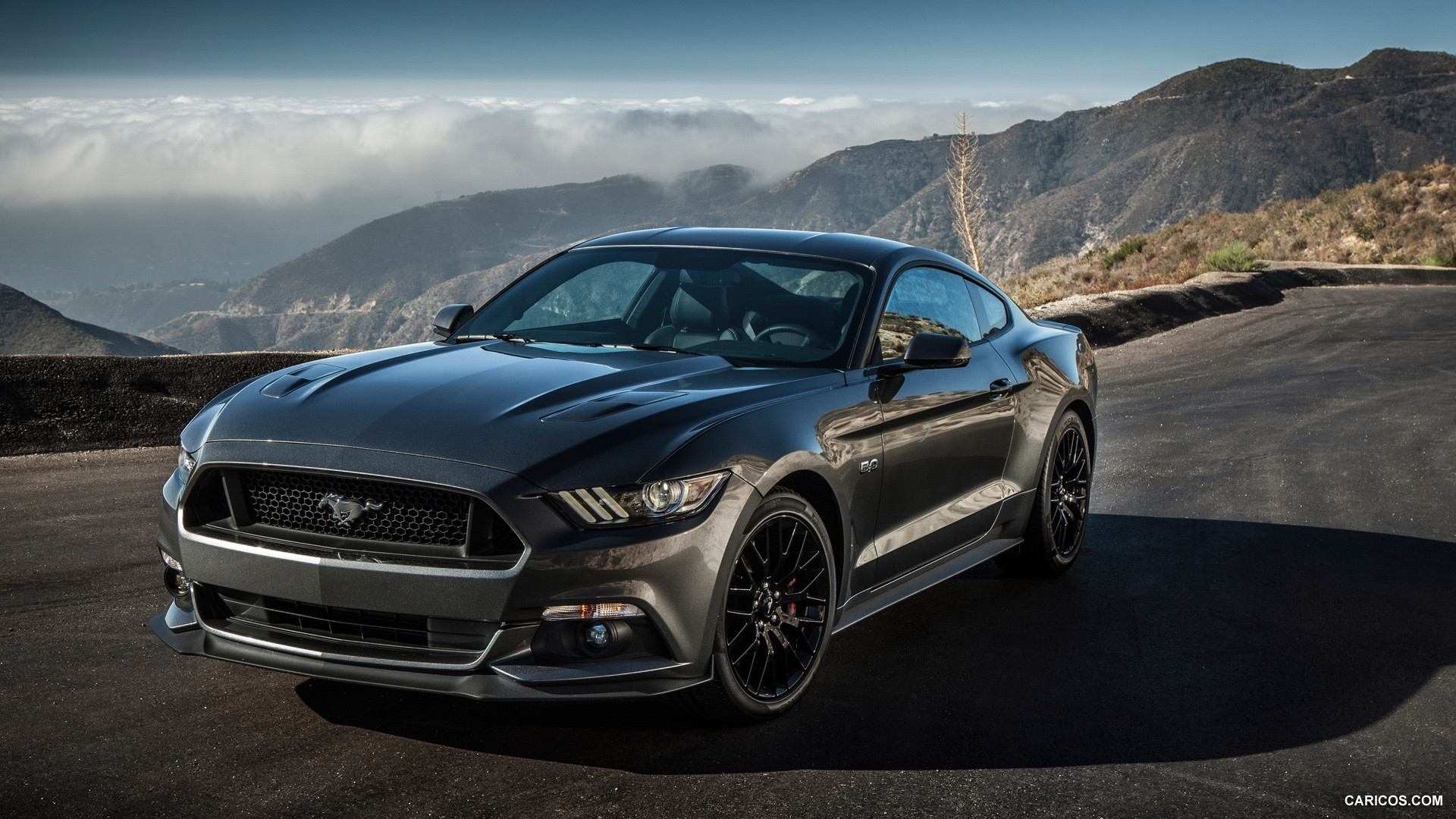 2015 ford mustang gt - front | hd wallpaper #214