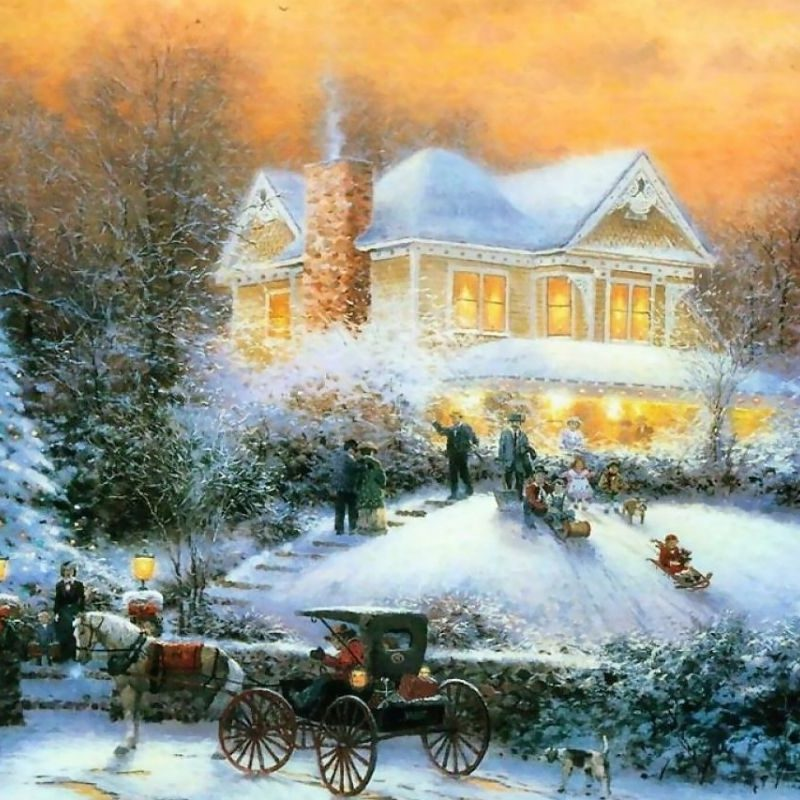 10 Top Thomas Kinkade Christmas Wallpaper Desktop FULL HD 1080p For PC Background 2018 free download 2015 free thomas kinkade christmas screensavers wallpapers images 800x800