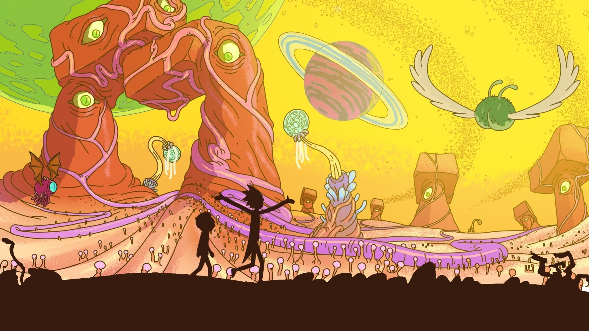 2017-03-14 - free screensaver wallpapers for rick and morty
