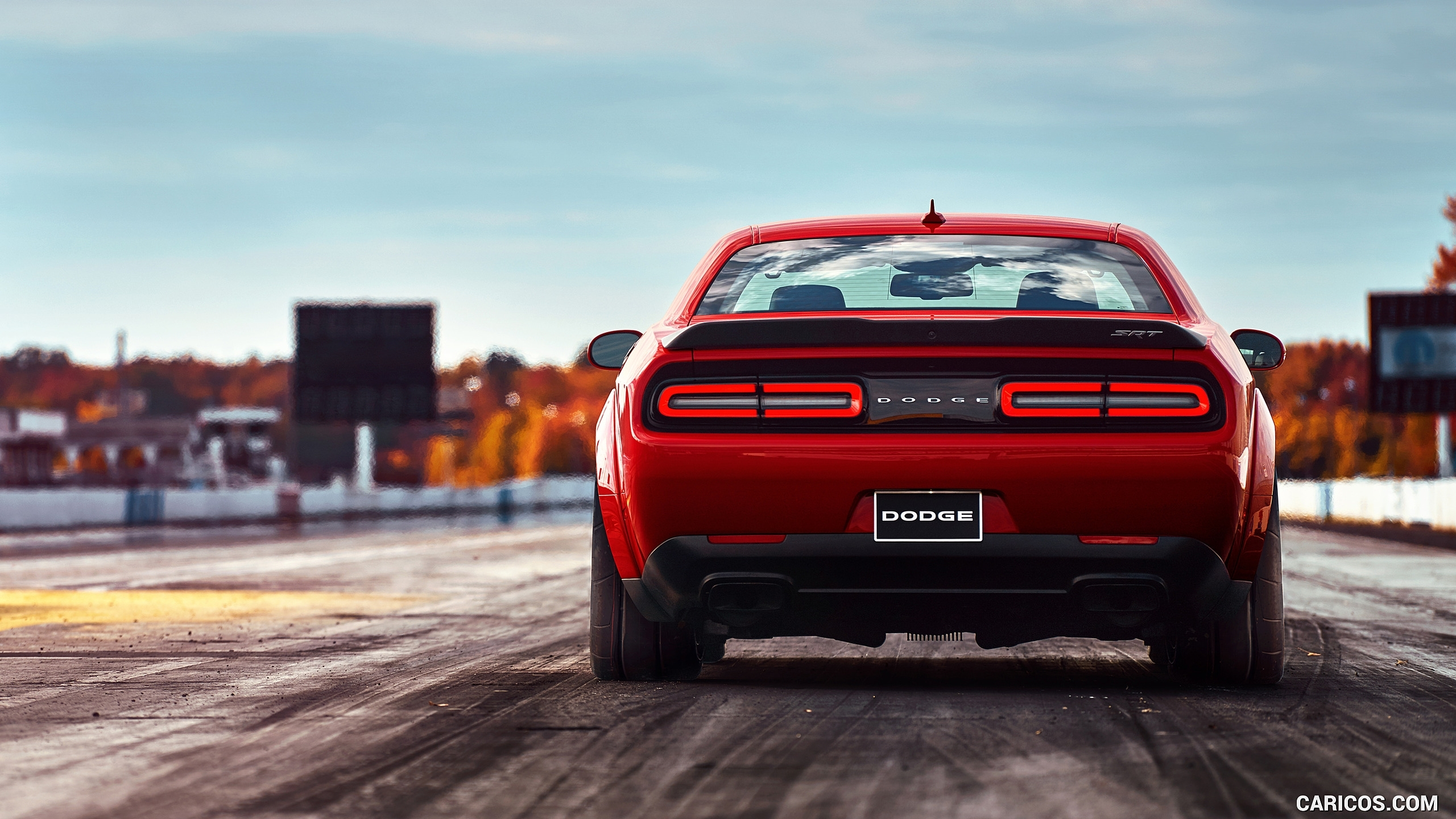 2018 dodge challenger srt demon - rear | hd wallpaper #36