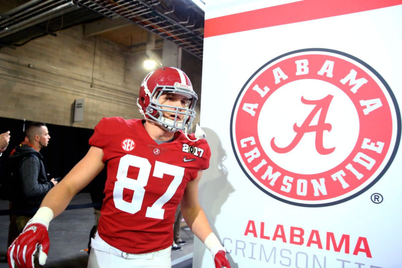 10 Top Pictures Of Alabama Football FULL HD 1080p For PC Background 2020 free download 2019 alabama crimson tide spring football unit previews tight ends 1 800x533