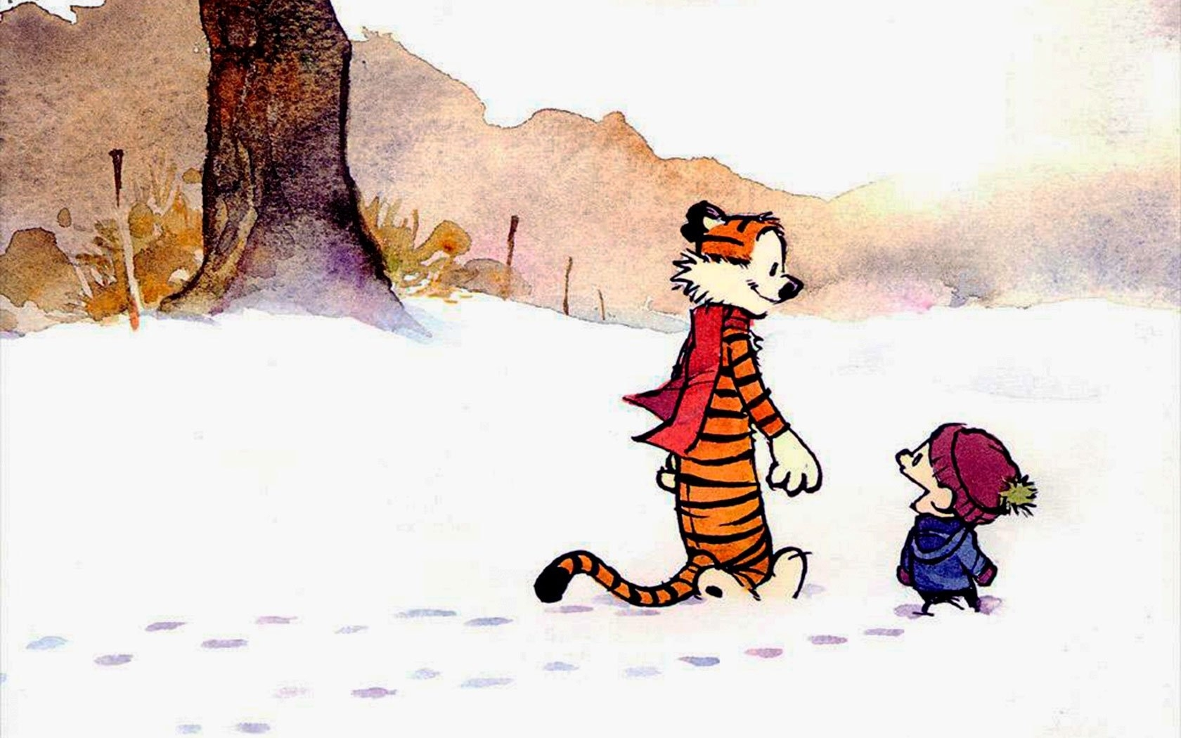 10 Best Calvin And Hobbes Hd Wallpaper FULL HD 1080p For PC Background