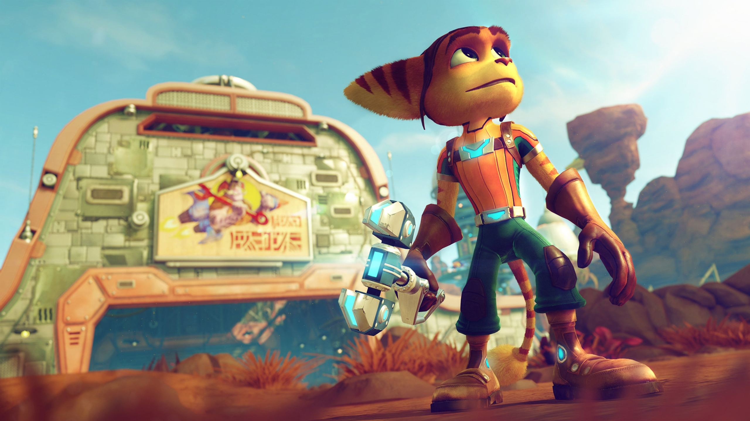 24 ratchet & clank hd wallpapers   background images - wallpaper abyss