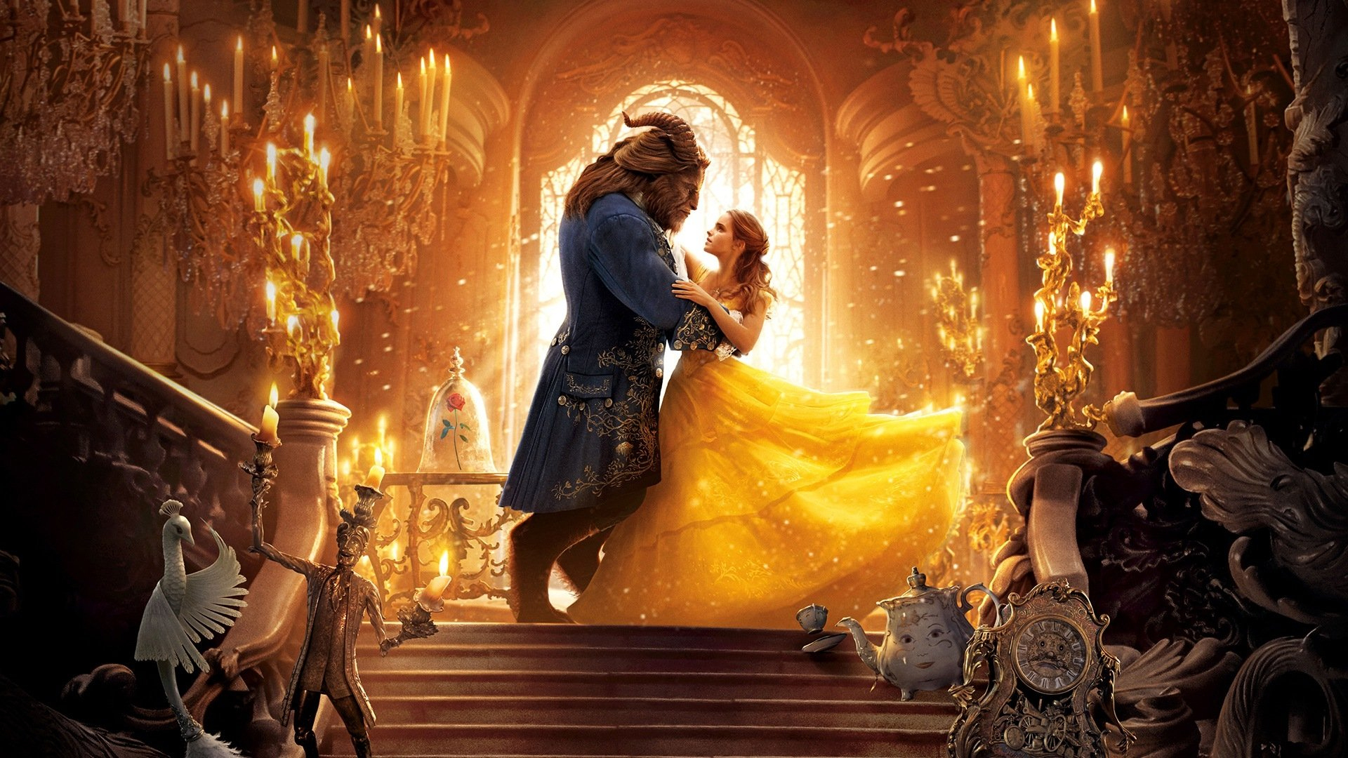 25 beauty and the beast (2017) hd wallpapers | background images