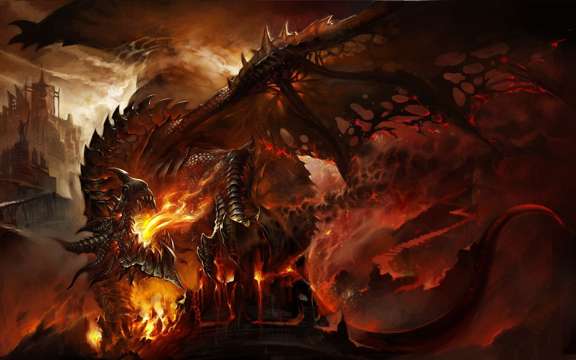 25 best epic dragon art picture gallery | fire dragon, wallpaper