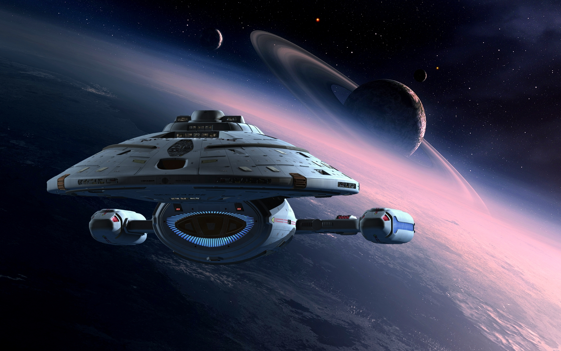27 star trek: voyager hd wallpapers | background images