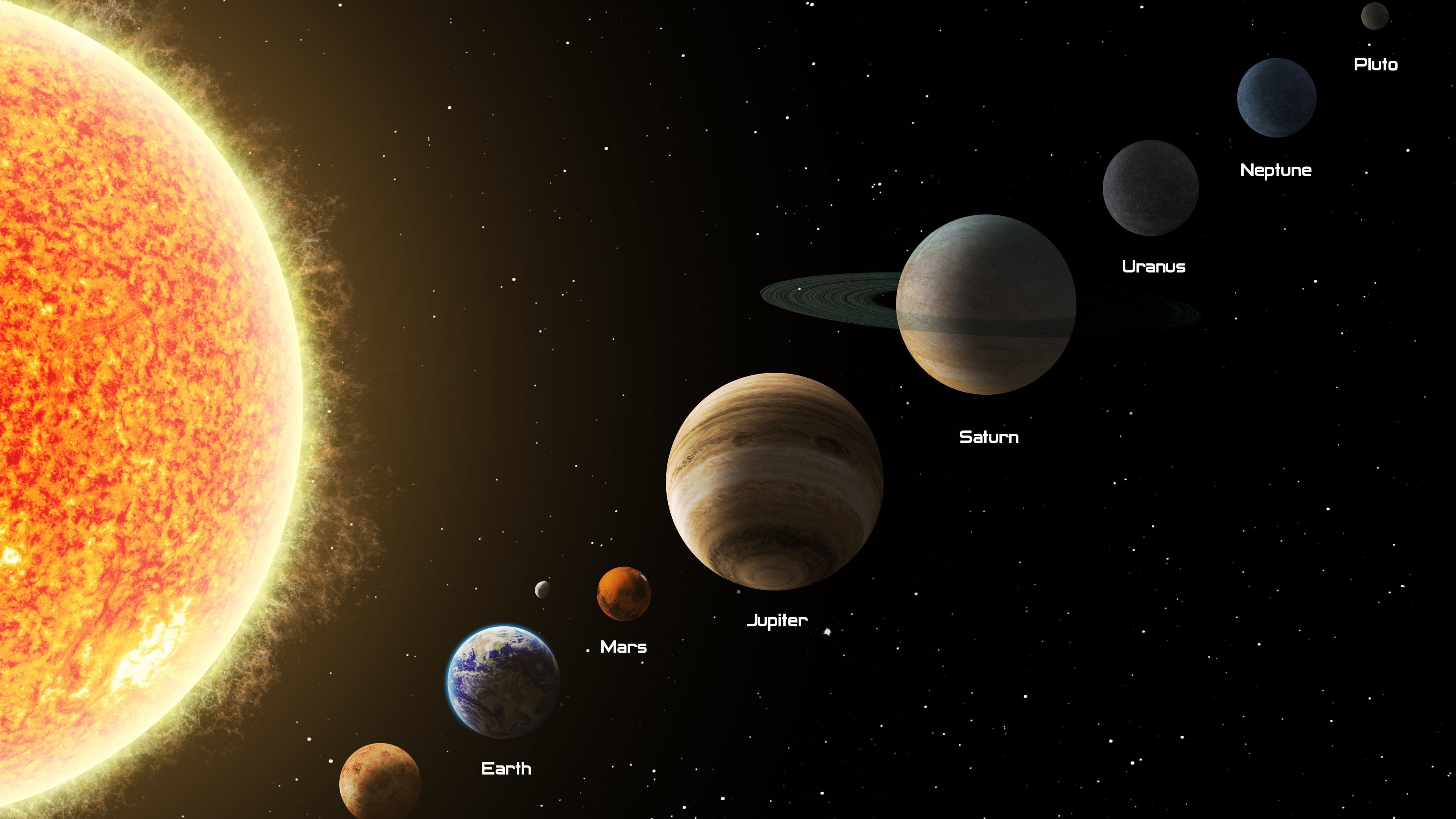 10 Top Solar System Desktop Background FULL HD 1920×1080 For PC Background