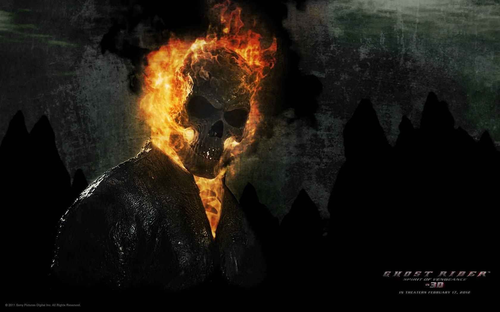 10 Best Ghost Rider Spirit Of Vengeance Wallpaper 3D FULL HD 1920x1080 For PC
