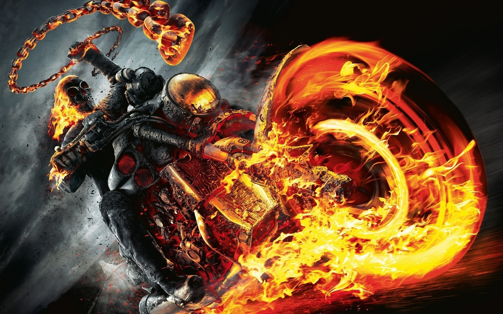 10 Best Ghost Rider Spirit Of Vengeance Wallpaper 3D FULL HD 1920×1080 For PC Background