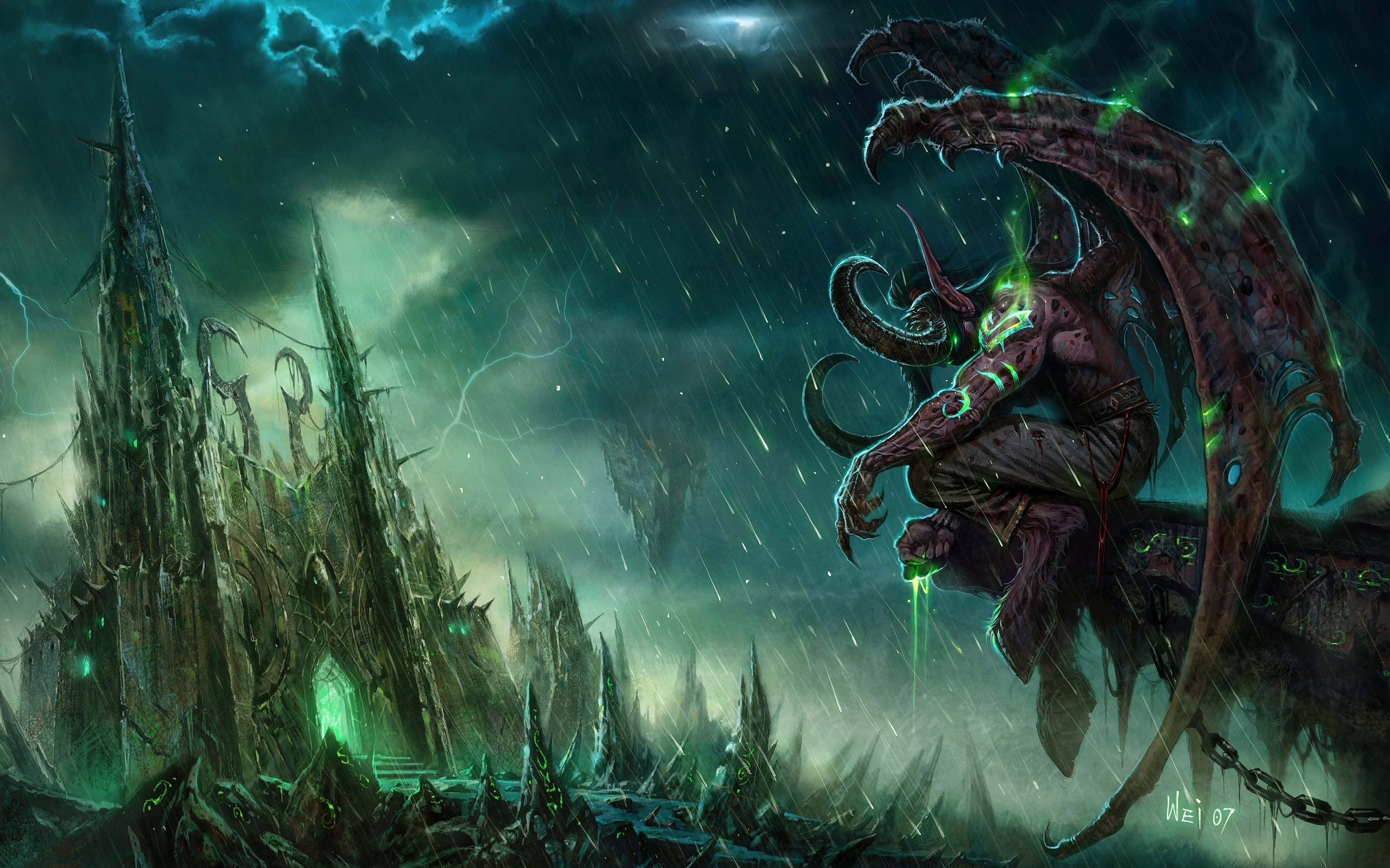 29 illidan stormrage fonds d'écran hd | arrière-plans - wallpaper abyss