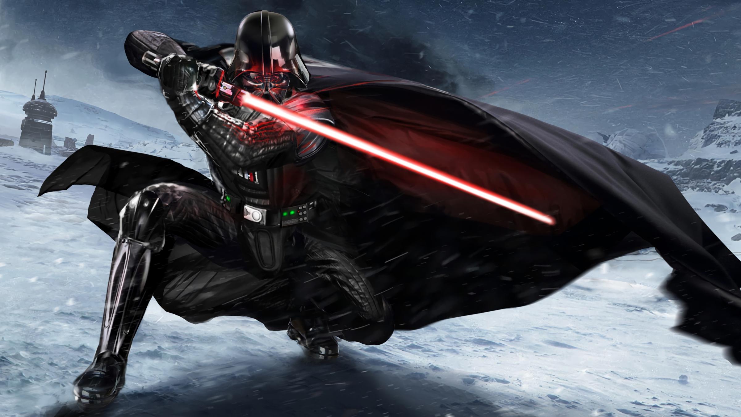 the great villain Darth Vader