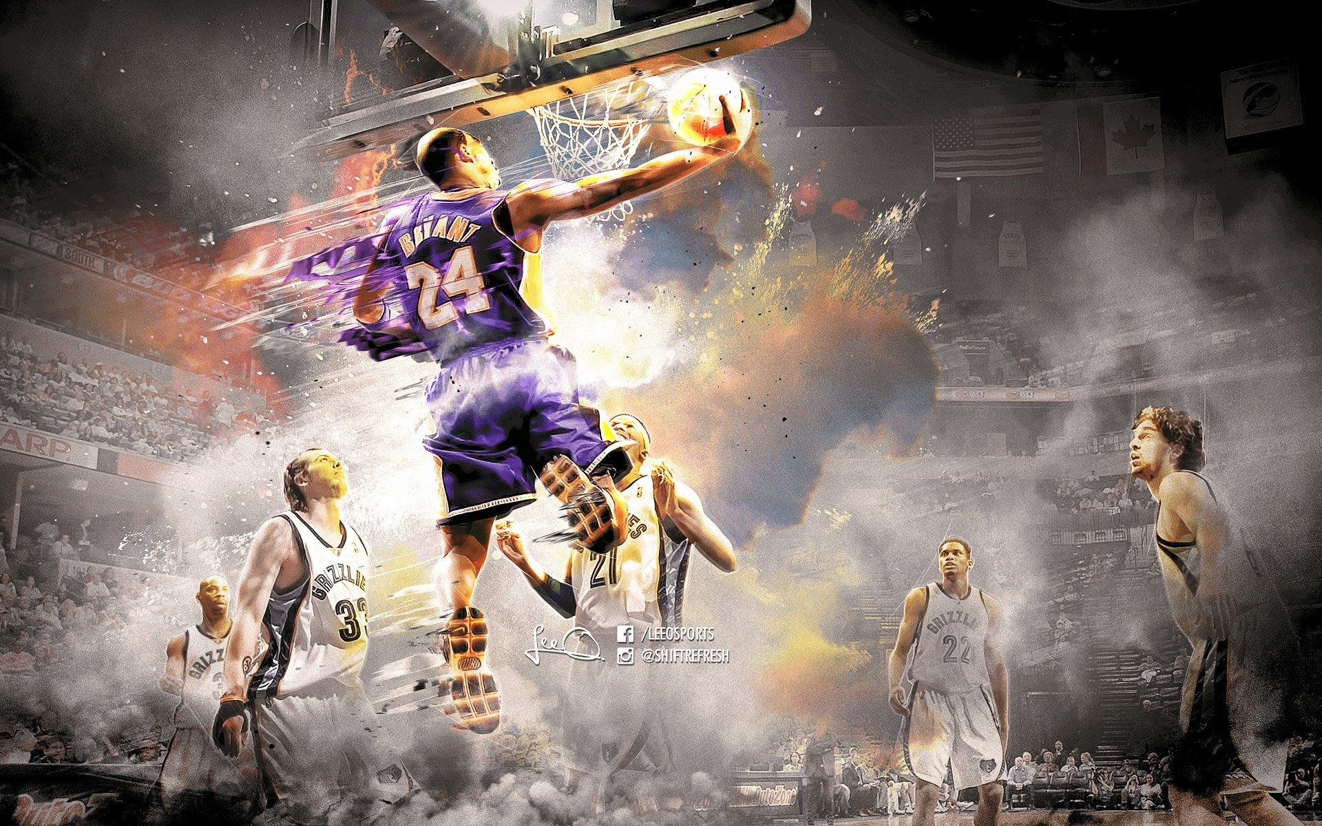 31 kobe bryant hd wallpapers | background images - wallpaper abyss